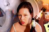 Dronken meisjes en vrouwen hebben sex